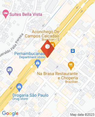Mapa da empresa Opção Imóveis