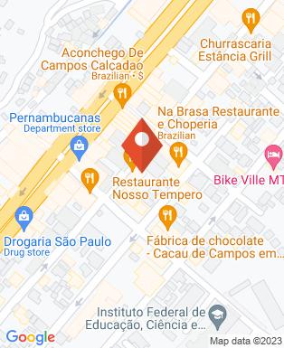 Mapa da empresa Golden Motos Campos do Jordão