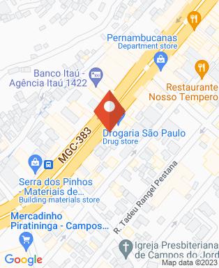 Mapa da empresa Prefeitura Municipal de Campos do Jordão