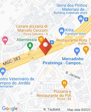 Mapa da empresa Dolomiti Projetos e Construções