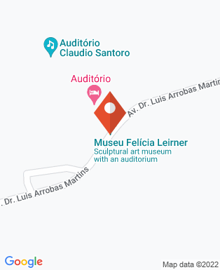 Mapa da empresa Museu Felícia Leirner - Auditório Claudio Santoro