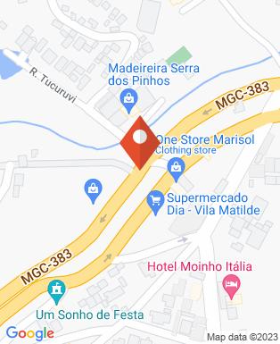Mapa da empresa Unisal São Paulo / Campos do Jordão