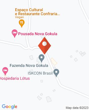 Mapa da empresa Fazenda Nova Gokula