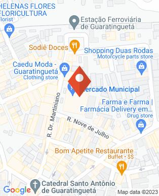 Mapa da empresa Prefeitura Municipal da Estância Turística de Guaratinguetá