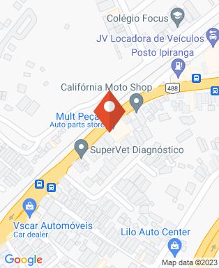 Mapa da empresa Umuarama Clube de Aparecida