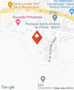 Mapa da empresa Câmara Municipal de Santo Antônio do Pinhal
