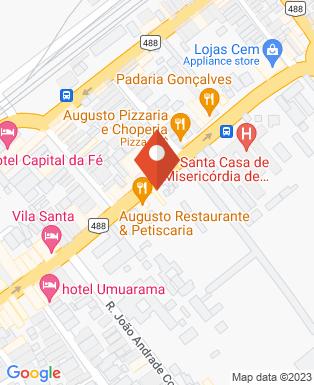 Mapa da empresa Golden Motos Aparecida