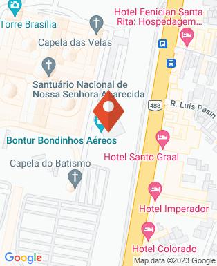 Mapa da empresa Santuário Nacional de Aparecida
