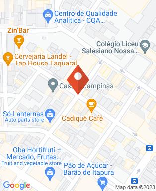 Mapa da empresa Espaço Guanabara