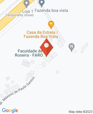 Mapa da empresa Faculdade de Roseira