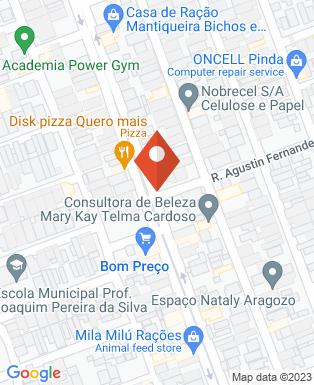 Mapa da empresa Italian Tintas