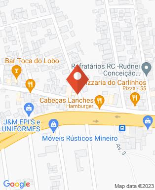 Mapa da empresa Espetinhos futebol clube