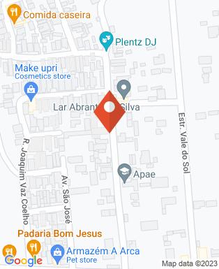 Mapa da empresa APAE  de Roseira