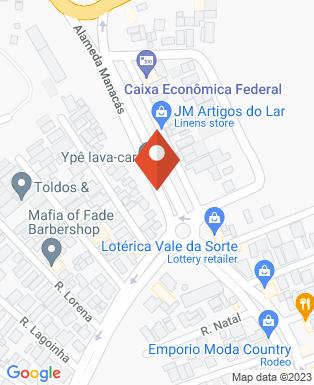 Mapa da empresa Caixa Economica Federal 104 - Ag. 3095