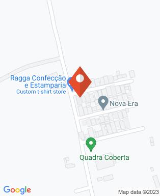 Mapa da empresa Ragga Confecções e Estamparia