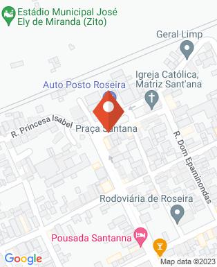 Mapa da empresa Prefeitura Municipal de Roseira