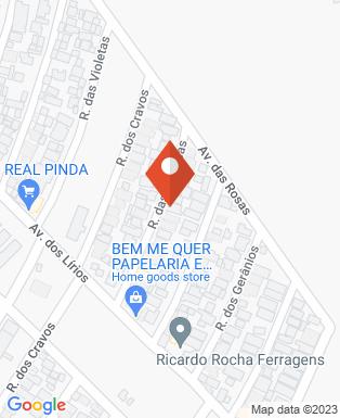 Mapa da empresa FC Dedetização