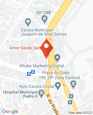 Mapa da empresa Golden Motos Santa Cruz