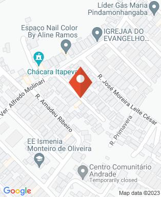 Mapa da empresa Sabor da Kombi