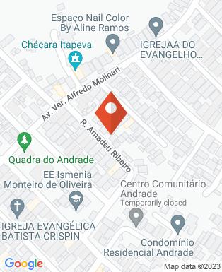 Mapa da empresa Kero Pizza