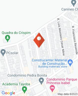 Mapa da empresa Angélica Bolos & Doces