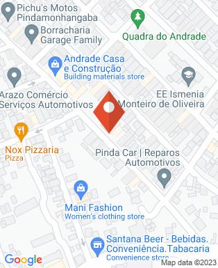 Mapa da empresa Rogério Auto Mecânica