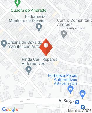 Mapa da empresa SF Barbearia