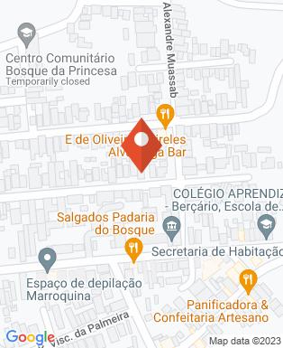 Mapa da empresa Martins Serra
