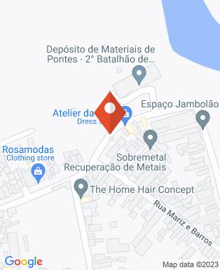 Mapa da empresa Comunidade Aliança Jesus Agora
