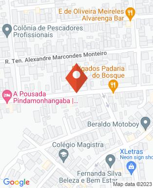 Mapa da empresa Ateliê Tatiane Emilia