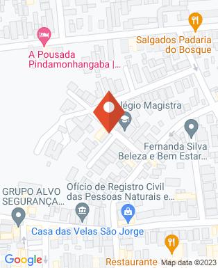 Mapa da empresa Colégio Magistra