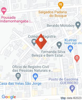 Mapa da empresa Ateliê dos Congelados Doces e Salgados