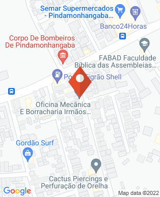 Mapa da empresa Giros Bike Shop
