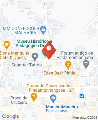 Mapa da empresa Museu Histórico e Pedagógico Dom Pedro I e Dona Leopoldina