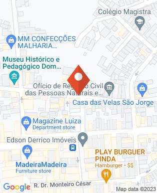 Mapa da empresa Alvo Segurança