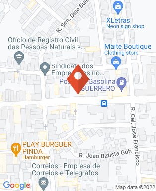 Mapa da empresa Restaurante Vitória