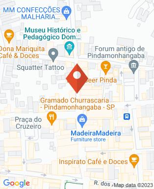Mapa da empresa Communicare Assessoria em Comunicação