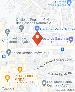Mapa da empresa Cacau & Carmim