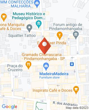 Mapa da empresa Magazine Luiza