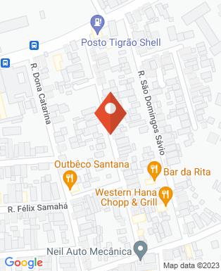 Mapa da empresa Studio Mulher