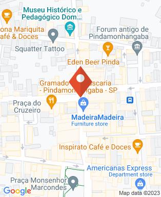 Mapa da empresa Santuário Mariano Diocesano N.S. do Bom Sucesso