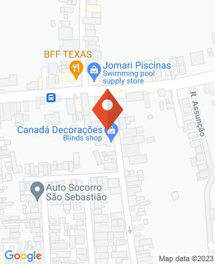 Mapa da empresa Fortrex Extintores
