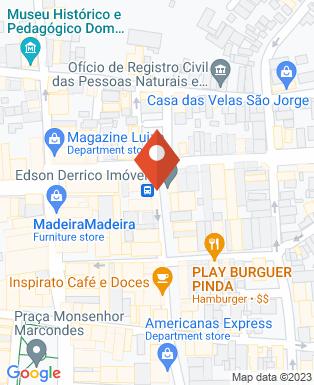 Mapa da empresa Cabelos & Cia