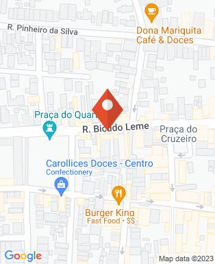 Mapa da empresa Sonho Lar Colchões