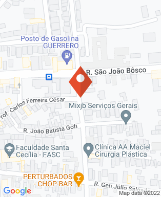 Mapa da empresa Inilibras