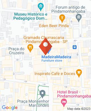 Mapa da empresa Lojas Mel
