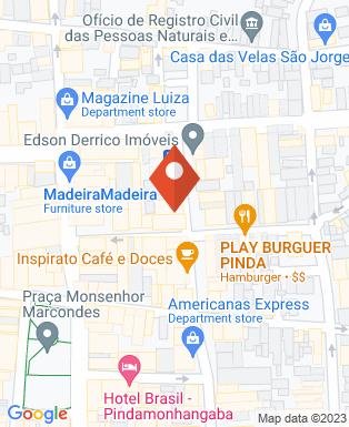 Mapa da empresa Finanças Consignados BMG