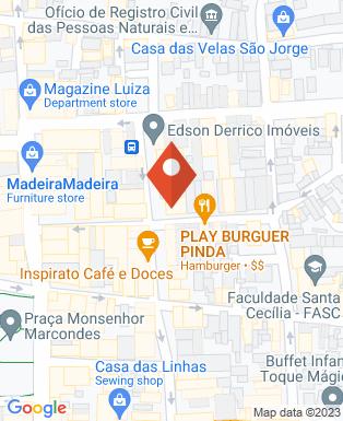 Mapa da empresa Odontocap - Pindamonhangaba