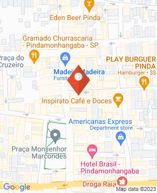 Mapa da empresa Embelleze Pinda