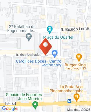 Mapa da empresa Disque Disquete
